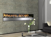 Jetmaster Linear Long Gas Fireplace