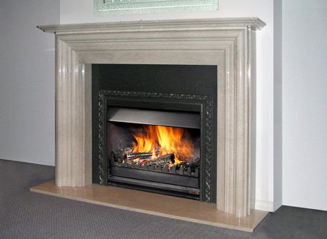Traditional Fireplace Mantels Australian Gas Log Fire