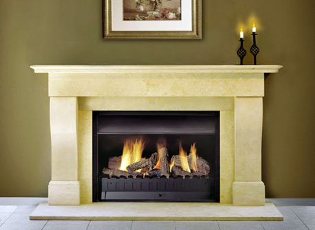 Traditional Fireplace Mantels Australian Gas Log Fire